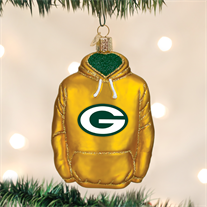 Green Bay Packers Hoodie Ornament - Old World Christmas