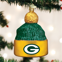 Green Bay Packers Beanie Ornament - Old World Christmas