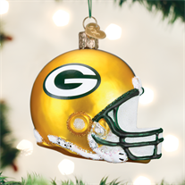 Green Bay Packers Helmet Ornament - Old World Christmas