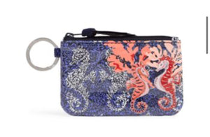 Iconic Zip ID Case-Seahorse of Course-Vera Bradley