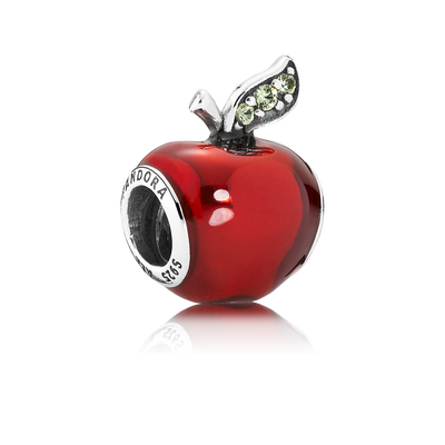 Disney Snow White's Apple - Sterling Silver and Red Enamel - PANDORA - 791572EN73