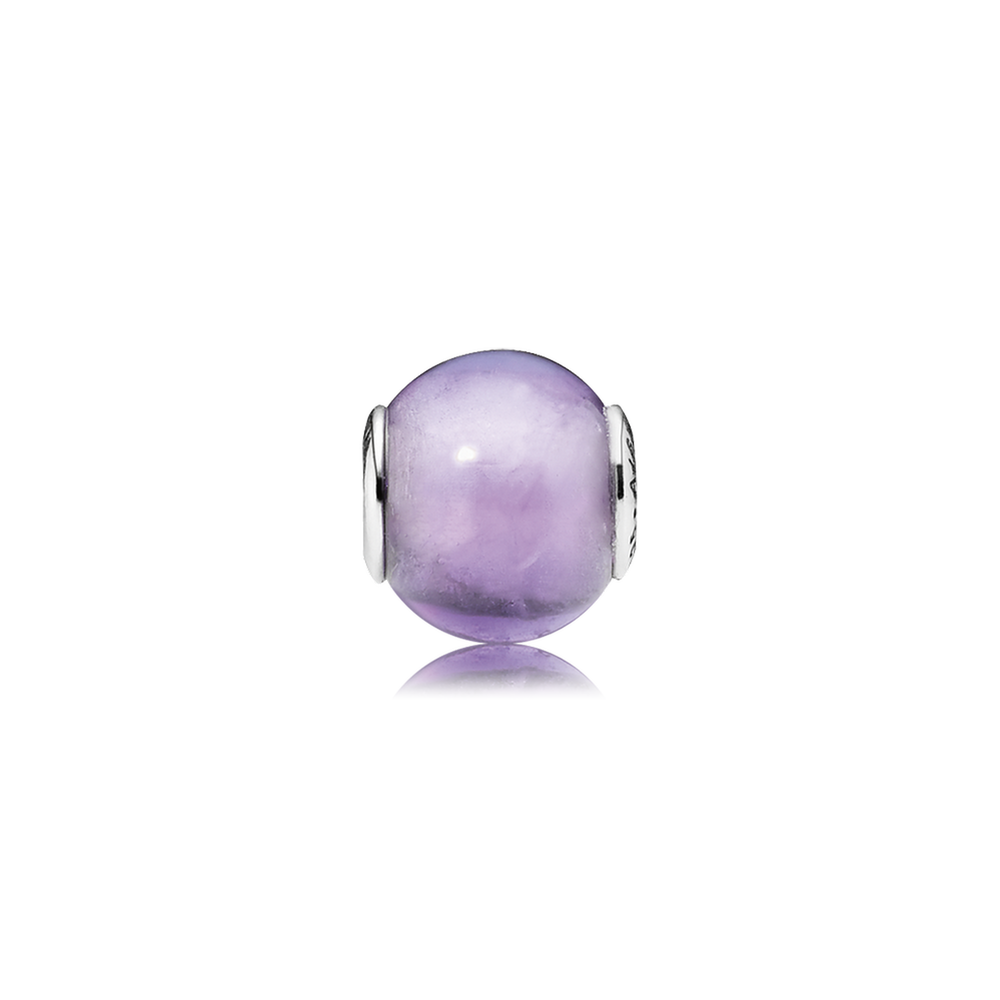 40e220df0 FAITH Charm - Sterling Silver with Synthetic Amethyst - PANDORA ESSENCE  COLLECTION - 796006SAM