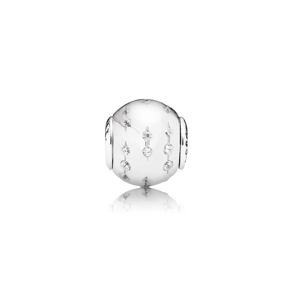 f3f1022dd TRUST Charm - Sterling Silver with Clear CZ - PANDORA ESSENCE COLLECTION -  796019CZ
