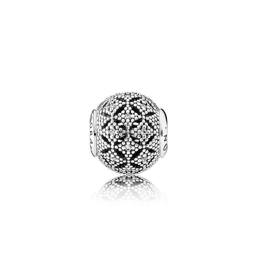 2a19149fb3f9d COMPASSION Charm - Sterling Silver and Clear CZ - PANDORA ESSENCE  COLLECTION - 796073CZ