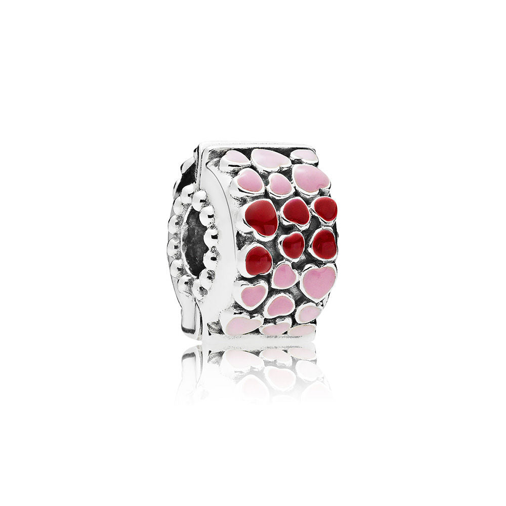 Bust of Love Clip - Mixed Enamel - PANDORA - 796594ENMX