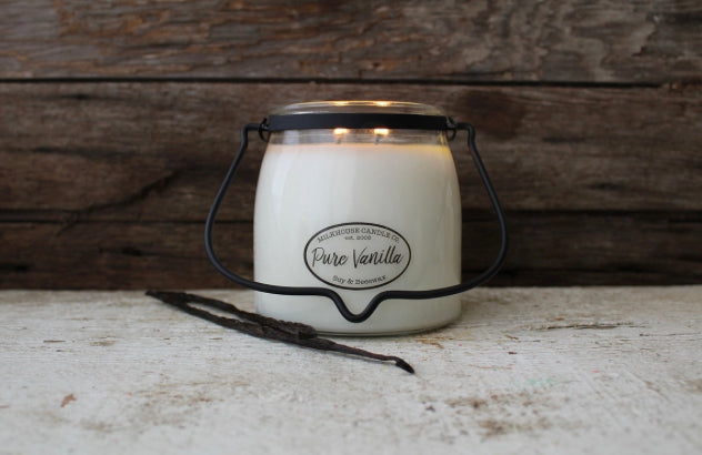 Pure Vanilla-16oz-Butter Jar