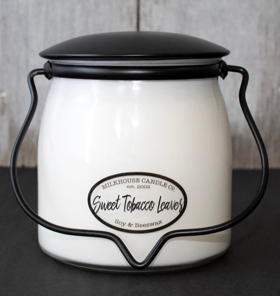 Sweet Tobacco Leaves-16oz-Butter Jar
