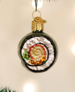Sushi Roll Ornament- Old World Christmas