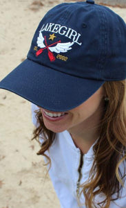 Lakegirl Winged Paddle Twill Hat