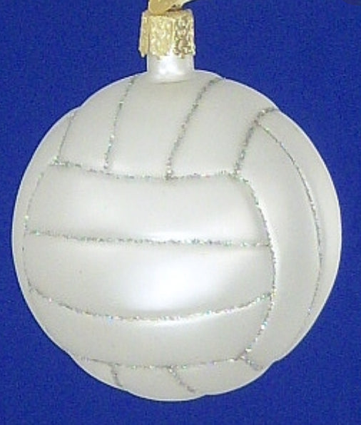 Volleyball-Old World Ornament