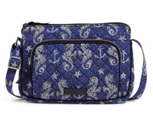 Iconic RFID Little Hipster-Seahorse of Course-Vera Bradley