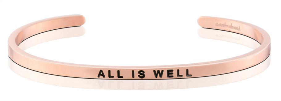 All Is Well - Mantra Band - Rose Gold
