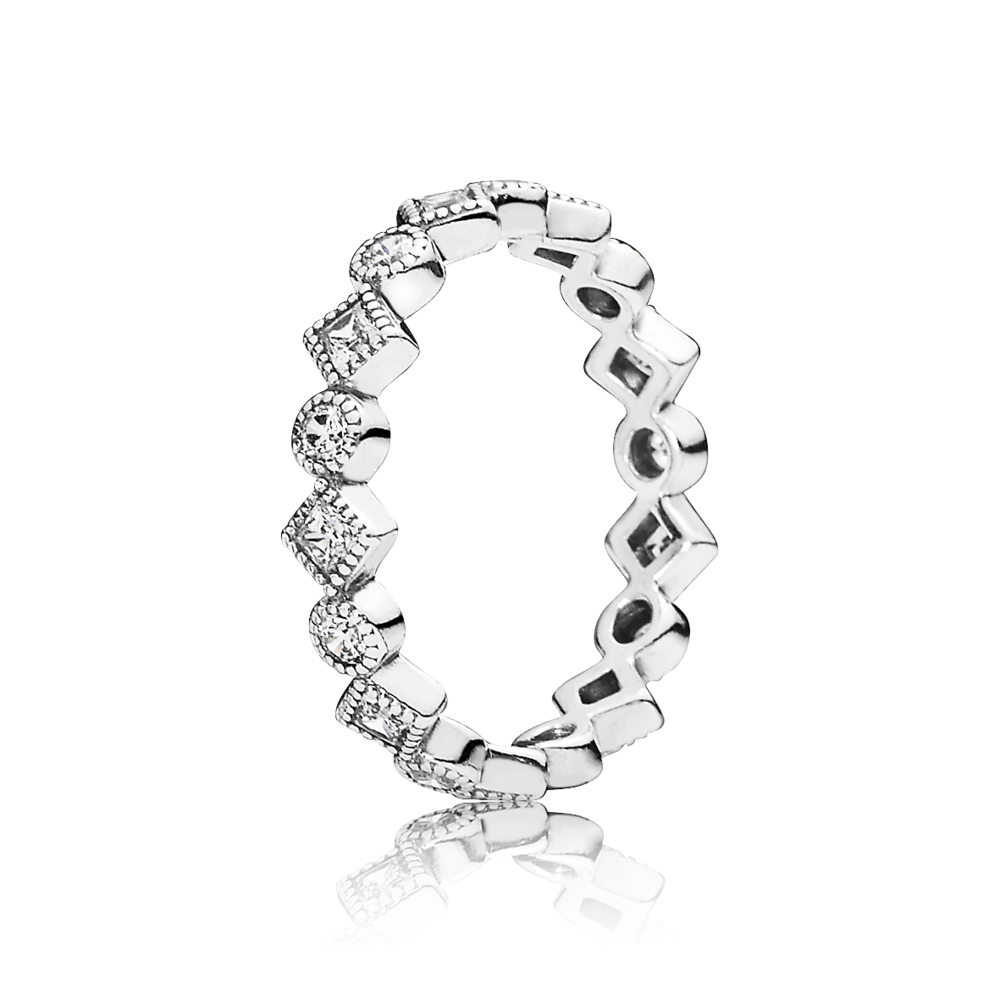 Pandora My Princess Clear Ring On Sale