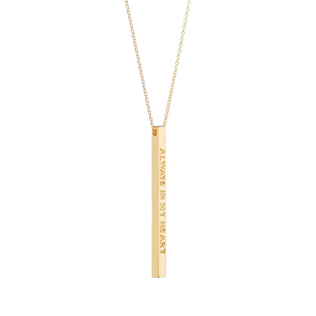 Always In My Heart - Necklace - Gold - Mantraband