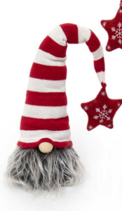 "GNOME HEAD WITH STAR POM 24""-(2 Styles Sold Separately)"