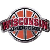 Wisconsin Badgers - Basketball - Stainless Steel - Medium