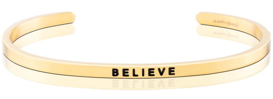Believe - MantraBand - Gold