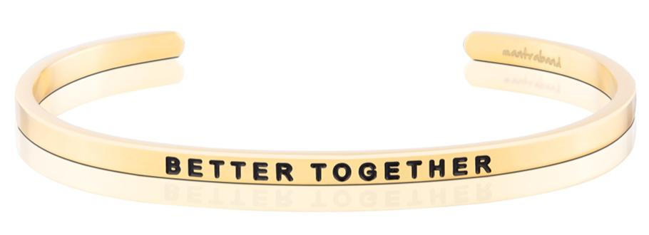 Better Together-MantraBand-18k Gold Overlay