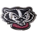 Wisconsin Badgers - Bucky Head - Stainless Steel - Large