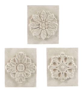 Medallion Plaster Plaques(3 Styles)