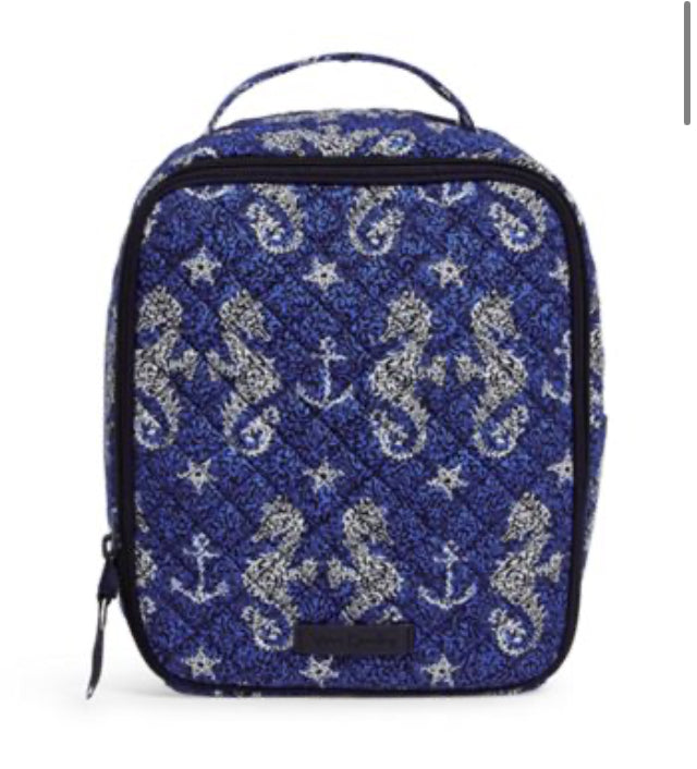 Iconic Lunch Bunch-Seahorse of Course-Vera Bradley