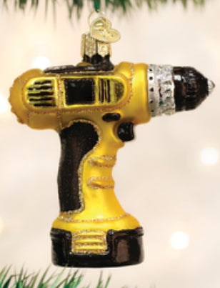Power Drill-Old World Ornament