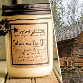 1803 Candles- 14oz Jar - Cabin on the Hill