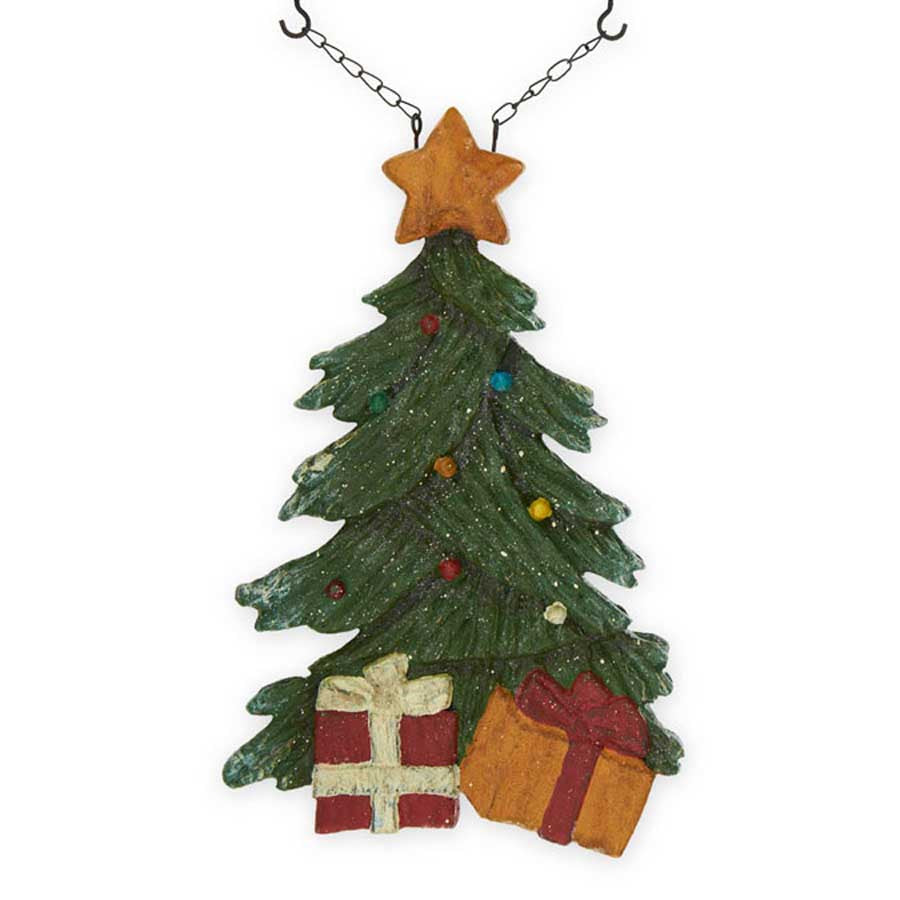 Christmas Tree Replacement Sign For Hanging Arrow Red