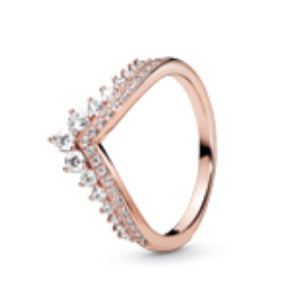 Princess Wishbone Ring-Pandora Rose-187736CZ