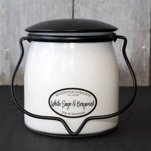 White Sage and Bergamot-16oz-Butter Jar