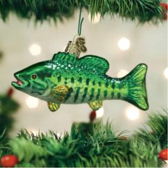 Smallmouth Bass-Old World Ornament