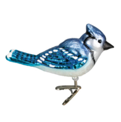 Bright Blue Jay Ornament-Old World Christmas