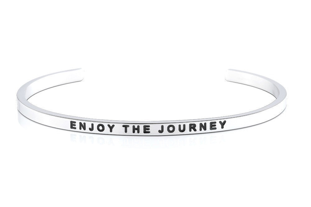 Enjoy the Journey - MantraBand - 18k Rose Gold Overlay