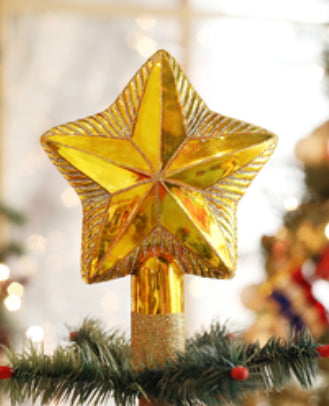 Star Tree Top-Old World Ornament