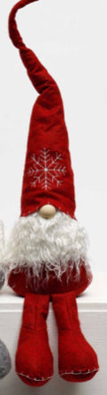 "SCHNITZEL GNOME WITH SNOWFLAKE HAT 29""-(2 Styles Sold Separately)"