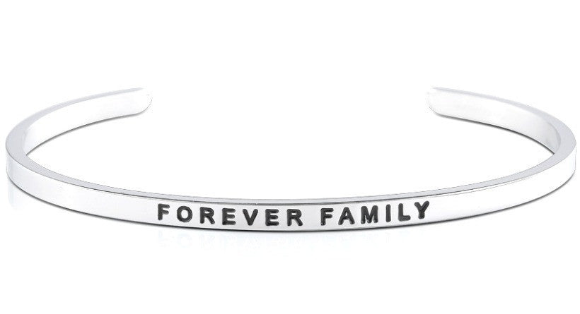 Forever Family - MantraBand - Silver