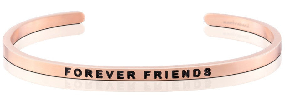 Forever Friends - MantraBand - 18K Rose Gold Overlay