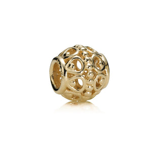 Guilded Cage Charm - 14K Gold - PANDORA - 750458