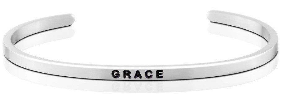 Grace - MantraBand - Silver