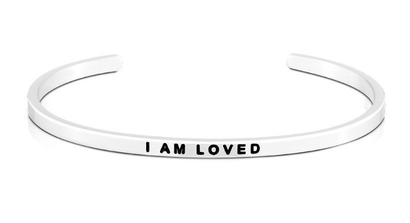 I Am Loved - MantraBand - Silver