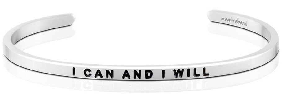 I Can and I Will - MantraBand - Silver
