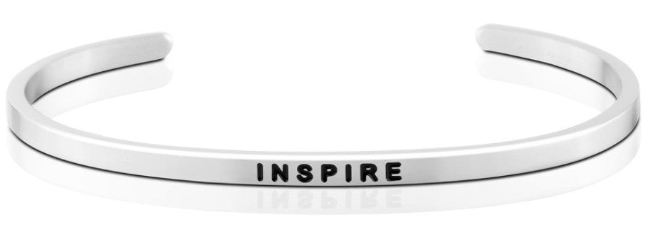 Inspire - MantraBand - Silver