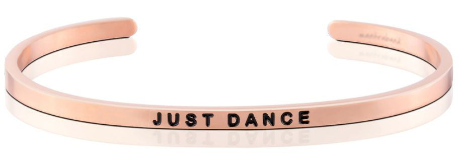 Just Dance - MantraBand - 18K Rose Gold Overlay