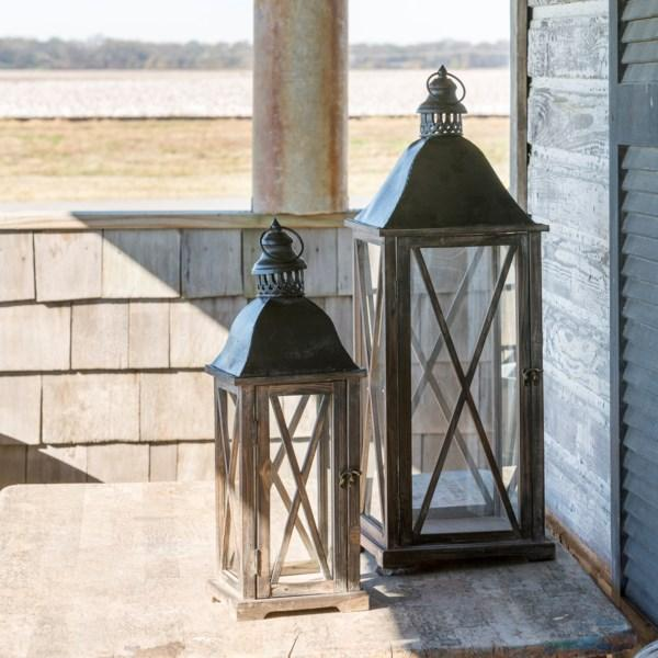 Country Club Lantern - 2 Sizes Sold Separately