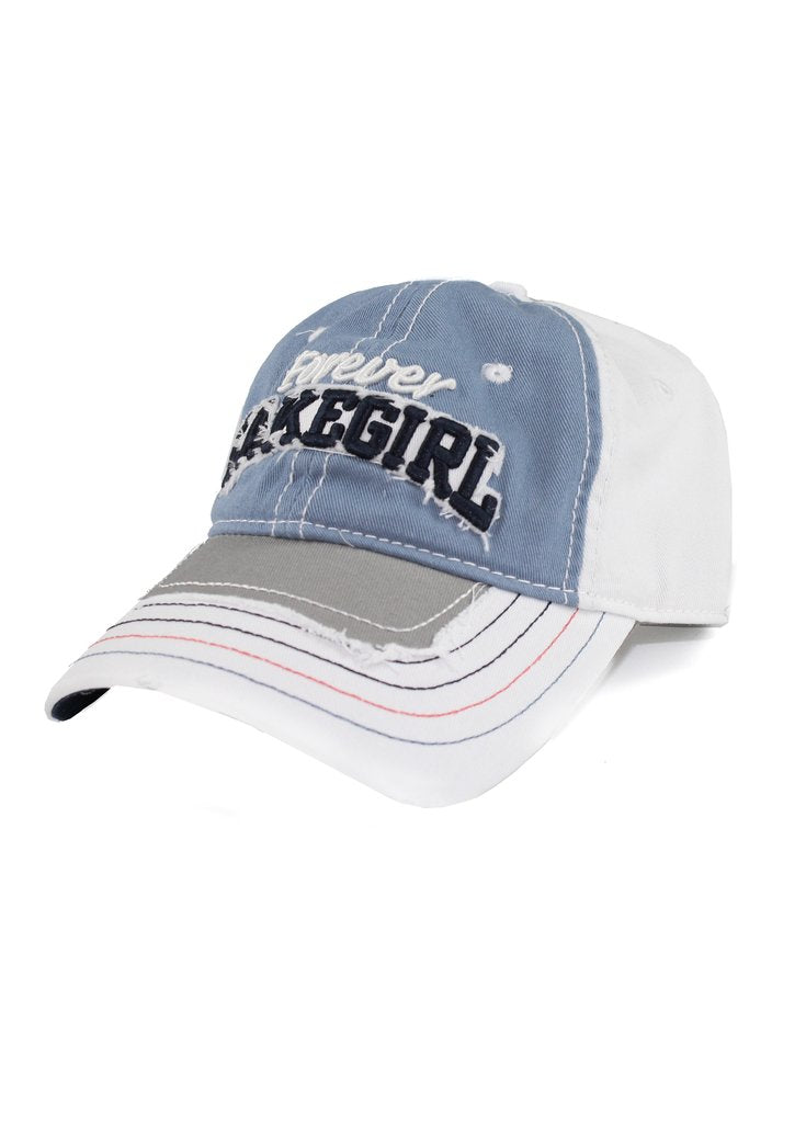 Lake girl Jeanie Mesh Cap - SKY