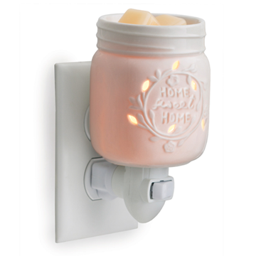 Mason Jar Pluggable Fragrance Candle Warmer