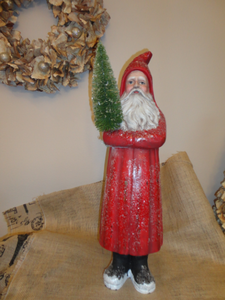 Red Belsnickle Santa- Bethany Lowe Designs