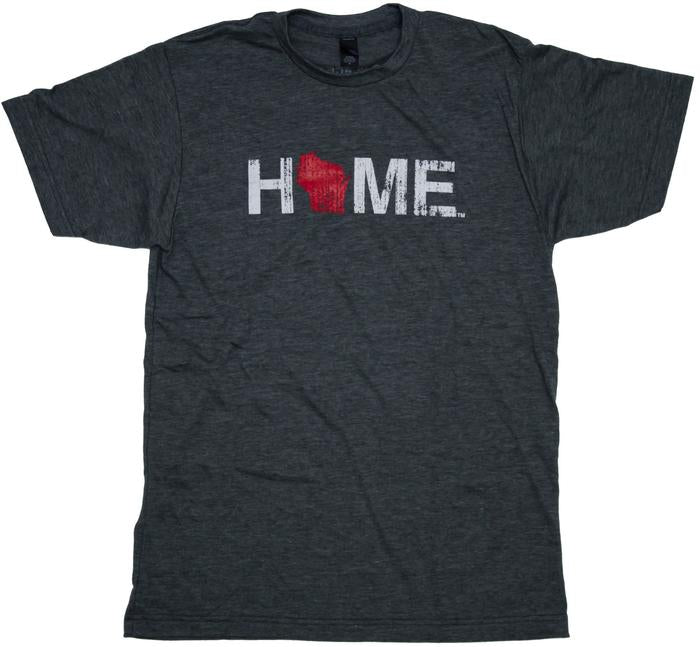 Unisex Home Wisconsin Tee - My state threads