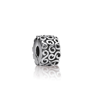 S Clip - Sterling Silver - PANDORA - 790338
