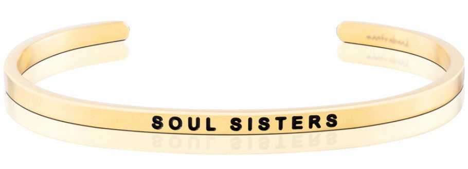 Soul Sisters - MantraBand - 18K Gold Overlay
